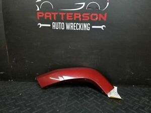 2008 Jeep Commander Driver Left Rear Flare Door Moulding Red Rock Paint Pem Wear