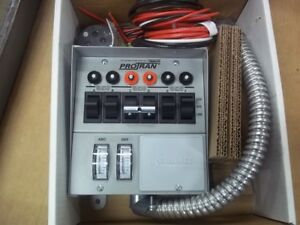 30216a Reliance Controls Protran Indoor 6 circuit Transfer Switch