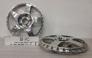 Pair New Ccw 3pc Lm5 17 18 Centers 5x112 57 1 Vw