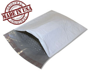 200 2 8 5x12 Poly Bubble Mailers Self Seal White Plastic Bags Envelopes 8 5 12