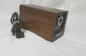 Panasonic Electric Pencil Sharpener Kp 77s Auto Stop Woodgrain Vintage