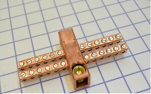 Ilsco Can 300 Copper Neutral Bar 600 Volts Only Copper Only Tap 14 6
