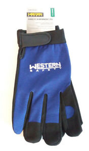 Western Safety Mechanics Gloves For Shop Industrial Machining Lot Of 72 Pair