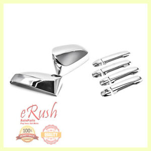 For 2012 2013 2014 2015 2016 Toyota Camry Chrome Door Handle Mirror Covers Combo