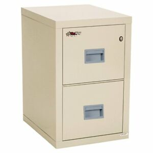 Fireking Compact Turtle 2 Drawer Vertical File Cabinet
