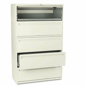 Hon Brigade 700 Series 5 Drawer Lateral File Cabinet