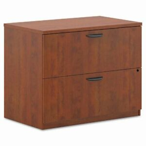 Basyx By Hon Bl Laminate Series 2 Drawer Lateral File Cabinet