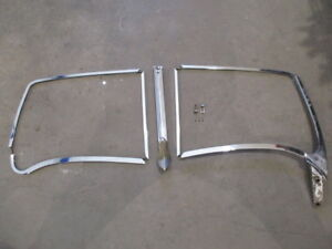 Jaguar Xk120 Xk140 Ots Roadster Windshield Frame Excellent Original Condition