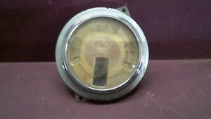 1939 Ford Deluxe Instrument Gauge Cluster Loc A01 B10
