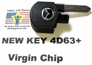 Uncut Mazda Flip Key Head Switchblade Chip 4d63 Keyless Remote Kpu41788 Fob Fab