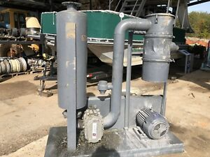 Used 15 Hp Gardner Denver Duroflow 4506 Positive Displacement Blower Ggdbada