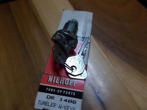 Niehoff Ignition Lock Cylinder Tumbler With 2 Keys Part Dr140b Gm