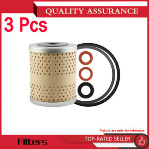 Hastings Filters 3pcs Engine Oil Filter For 1956 Plymouth Belvedere V8 4 4l