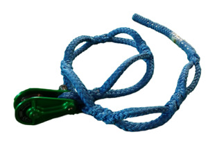 Soft Anchor Rigging Sling 1 2 X 5 With Isc Rp048 Rigging Block