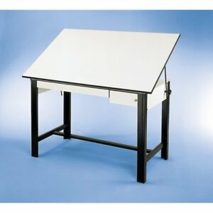 Alvin Designmaster Drafting Table With Drawers
