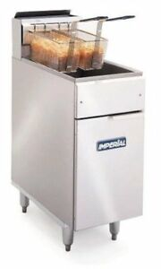 Imperial 50 Lb Gas Fryer 140 000 Btu Ifs 50 New