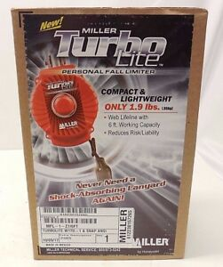 Miller By Honeywell Turbo Lite Personal Fall Limiter Mfl 1 z7 6ft
