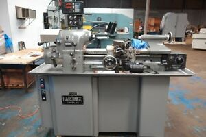 Hardinge Hlv h Super Precision Tool Room Lathe Sony 2 Axis Digital Read Outs