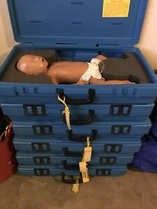 Armstrong Medical Chris Infant Baby Cpr Manikin W Carry Case