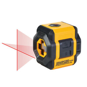 Johnson Levels 40 6603 Two beam Self leveling Red Cross line Laser