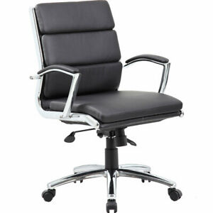 High back Pu Leather Executive Office Chair bifma b9476cp