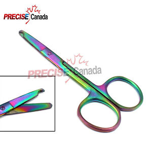 New Surgical Instruments Suture Scissors Rainbow Suture Removal Scissors Ds 1291