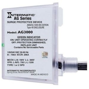 Intermatic Surge Protector Device Ag3000 Free Shipping
