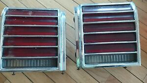 1976 77 Pontiac Grand Prix Tail Lights