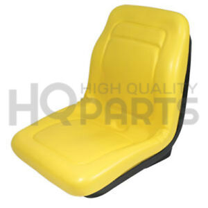 Replacement John Deere Gator Seat 18 Yellow Vinyl