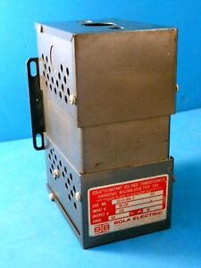Sola 23 13 060 2 Constant Voltage Transformer Harmonic Neutralized Cvs 118 Volt