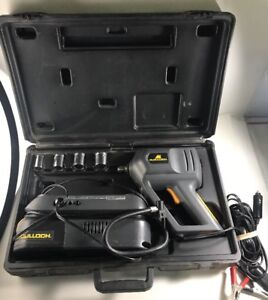 Mcculloch 1 2 13mm 12v Impact Wrench 9840 9800 Compressor Combo Set