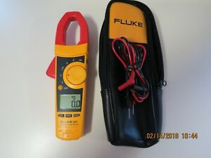 Fluke 337 True Rms Clamp Meter 337 In Very Nice Condition