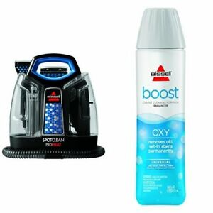 Bissell 5207f Carpet Cleaner Machine Spot Wave Heat Extractor Stain Oxy Boost