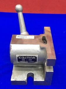 5c Collet Fixture 225 202 With Locking Device no Collet rod Included