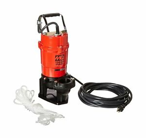 Multiquip St2040t Electric Submersible Trash Pump With Single Phase Motor 1