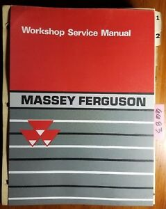 Massey Ferguson Mf 550 Combine Service Manual 1449 200 M1