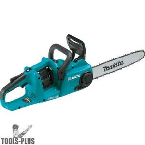 Makita Xcu03z 18v X2 Lxt Li ion Brushless Cordless 14 Chain Saw Tool Only New