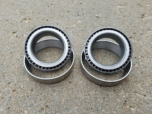 Gm 12 bolt Chevy Truck Carrier side Bearings Races Lm603012 Lm603049 New