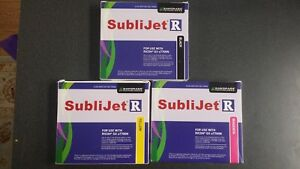 Sublijet R Sublimation Ink Kit myk Cartridge For Ricoh gx7700n By Sawgrass