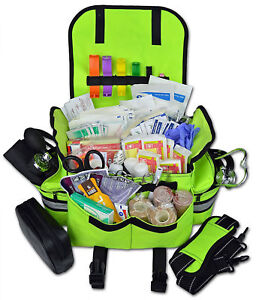 Trauma Full Bag First Aid Kit First Responder Complete Shocked Emt Ems Paramedic