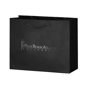 100 Custom Matte Laminated Euro Tote Bag Imprinted With Your Logo Or Message