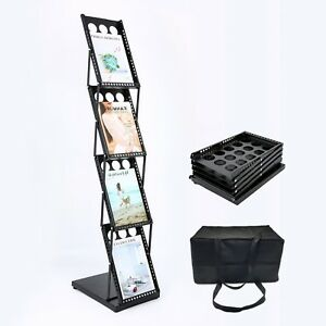 Polmart 361e Brochure Magazine Catalog Literature Display Holder Rack Floor Pop