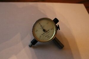 599 8136 312 Brown And Sharpe Dial Indicator 075 By 0005 Jeweled Mint V11