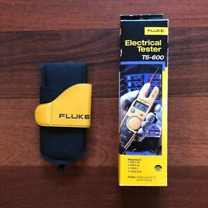 Fluke T5 600 holster Voltage Continuity Current Digital Electrical Tester Meter