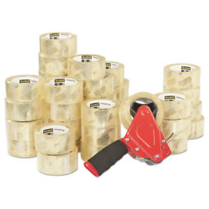 Scotch 3750 Commercial Grade Packaging Tape 1 88 x54 6yds 3 Core Clear 36 ct