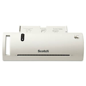 Scotch Thermal Laminator Value Pack 9 W With 20 Letter Size Pouches
