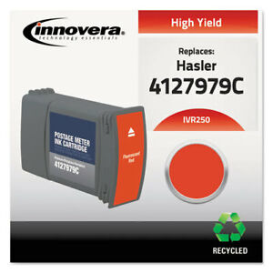 Innovera Compatible 4127979c 250 Postage Meter Ink Red
