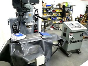 Moore Cnc Jig Grinder Model 3 With Nasa Fagor Cnc Upgrade Extra Tooling Clean