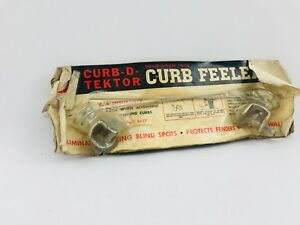 1940s 1950s Nos Curb Feelers Plymouth Dodge Desoto Chrysler Accessory Wow