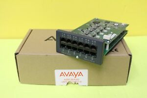 Avaya Ip 500 Combo Base Card Analog Phone 8 700476013 W 4 Analog 700417405